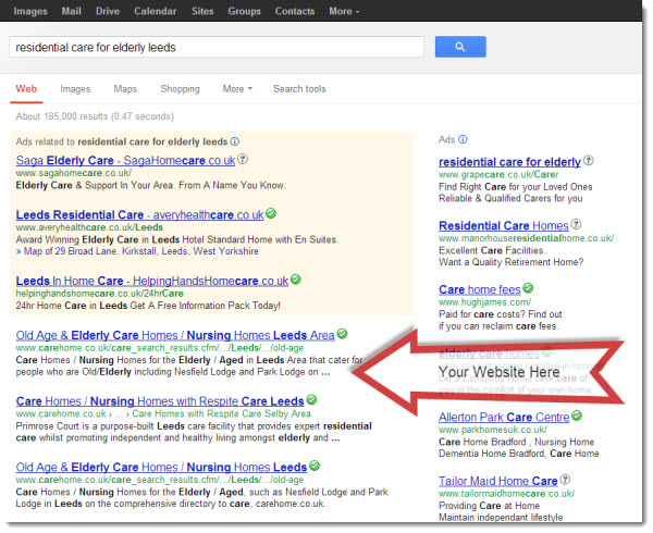 SEO Service for Care Homes