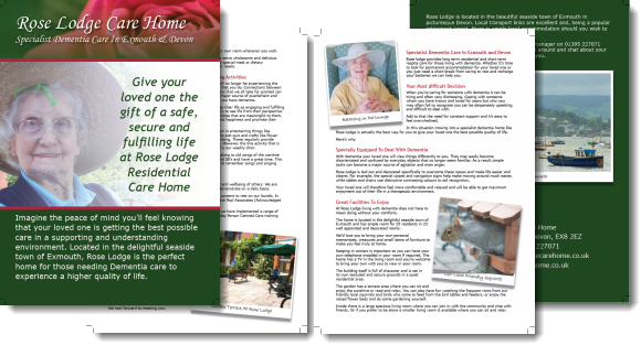 Rose Lodge Brochure