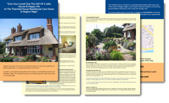 Thatched Complete Brochure