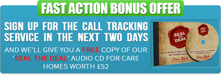 Call Tracking Special Offer Bonus